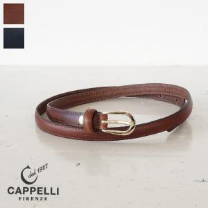 CAPPELLI カペリ レザーベルト イタリア製 レディース|amico-di-ineya
