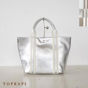 TOPKAPI (トプカピ) ソフトシュリンクレザー テープコンビ ミニトートバッグ|amico-di-ineya