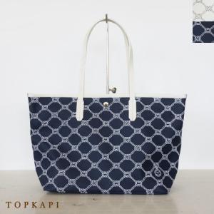 TOPKAPI (トプカピ) PVC コーティング トートバッグ ロープ柄|amico-di-ineya