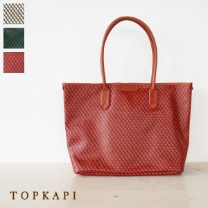 TOPKAPI トートバッグ A4 PVC レザー FRESCO トプカピ 503-14-11001|amico-di-ineya
