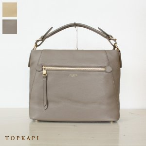 TOPKAPI トプカピ イタリアン シュリンクレザー 2WAY ショルダーバッグ 501-14-60001|amico-di-ineya