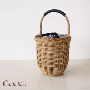 Cachellie (カシェリエ) ラタン バケツ型 かごバッグ 54-3144|amico-di-ineya