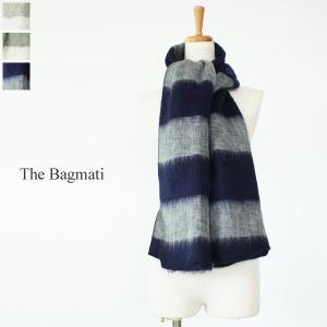 The Bagmati(ザ・バグマティ)ボーダー柄アクリルコットンストール *85320S|amico-di-ineya
