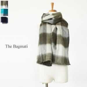 The Bagmati(ザ・バグマティ)チェック柄アクリルコットン大判ストール *85321|amico-di-ineya