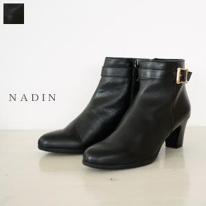 NADIN ナディン ベルト付き ショート ブーツ 86/2305 / 返品不可|amico-di-ineya