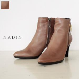 NADIN ナディン サイドジップ ショート ブーツ 94/2353|amico-di-ineya
