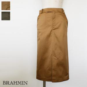 BRAHMIN ブラーミン コットン テンセル ストレッチ タイトスカート B23104 / SALE / 返品不可 / 30%OFF|amico-di-ineya