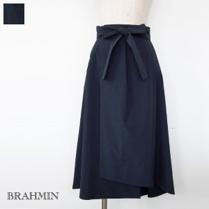 [SALE] BRAHMIN スカート ウエストリボン ラップ風 タイプライター ブラーミン B24114 20%OFF 返品不可|amico-di-ineya