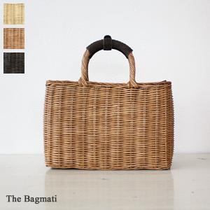 The Bagmati ザバグマティ ラタン スクエア かごトート バッグ BBK17-04|amico-di-ineya