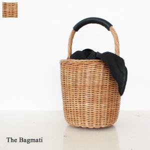 The Bagmati ザバクマティ ウィッカー バケツ型 かごバッグ BBK17-23S|amico-di-ineya