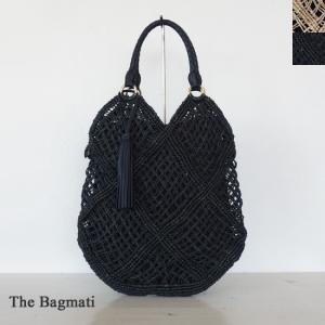 The Bagmati (ザバクマティ) アバカ レザー タッセル かご トートバッグ|amico-di-ineya