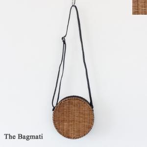 The Bagmati (ザバクマティ) ウィッカー レザー ショルダー かごバッグ ポシェット|amico-di-ineya