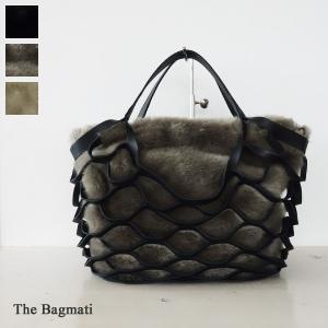 The Bagmati バッグ レザーメッシュ フェイクファー 2WAY ザバグマティ BBL18-106|amico-di-ineya
