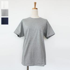 [メール便対応] Barns OUTFITTERS (バーンズアウトフィッターズ) コットン 天竺 ポケット Tシャツ BR-6781|amico-di-ineya