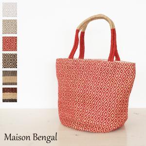Maison Bengal (メゾンベンガル) ジュート麻 バッグ XSサイズ JUTE BEACHBAG EXTRA SMALL BSK-XS|amico-di-ineya