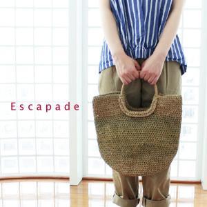 ESCAPADE エスカペード 丸ハンドル 水草 トートバッグ Lサイズ DIANA-L|amico-di-ineya