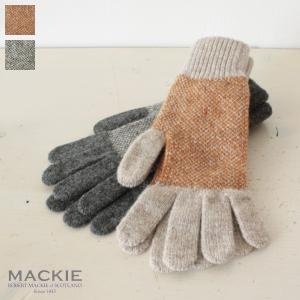 ROBERT MACKIE (ロバートマッキー) ニット グローブ 手袋 Birdseye Jacquard GL703|amico-di-ineya