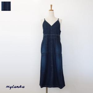 [30%OFF SALE] MyLanka (ミランカ) ジャンパー スカート ストレッチデニム M63602 返品不可 amico-di-ineya