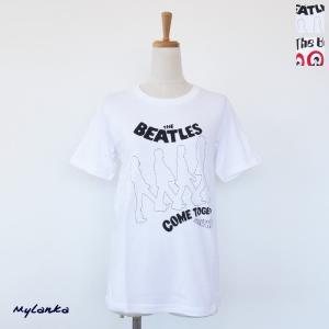 MyLanka (ミランカ) Tシャツ The Beatlesコラボ コットン 半袖 M84402/M84403|amico-di-ineya