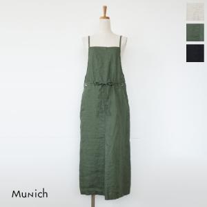 Munich (ミューニック) ジャンパー スカート フレンチリネン MN191N75|amico-di-ineya