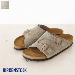 BIRKENSTOCK Zurich Suede Leather ソフトベッド サンダル ビルケンシュトック チューリッヒ [ナローフィット]|amico-di-ineya