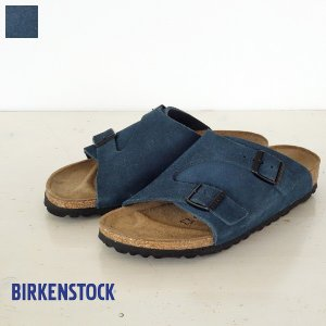 BIRKENSTOCK Zurich Suede Leather サンダル ビルケンシュトック チューリッヒ [ナローフィット]|amico-di-ineya