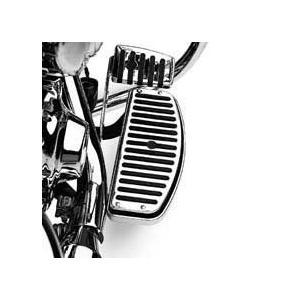 50176-95 クローム&ラバー・コレクション フットボードインサート 【ハーレー純正カスタムパーツ】