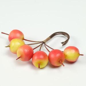 【リニューアル】プリベリーアップル6コ <プリザーブドフラワー・フラワーアレンジメント・花材・実もの・ベリー>