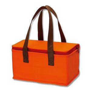 シモジマ 保冷袋 不織布保冷バッグ マルチ オレンジ 1枚×1セットの商品画像|ナビ