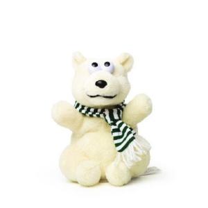 WOODY O'TIME オウム返し しろくま 白熊 ぬいぐるみ ものまねアニマル マイムフレンズ ...