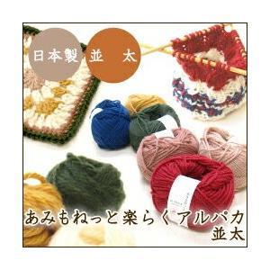1色10玉セット 秋冬 毛糸 あみもねっと楽らくアルパカ並太 まとめ買い用