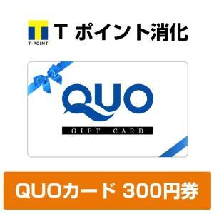 (※郵便で発送します。)Tポイント消化 QUOカード 300円