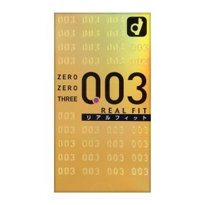 限定価格 お一人様3点まで ゼロゼロスリー003 リアルフィット 10個入り 4547691689610|amiskanazawa