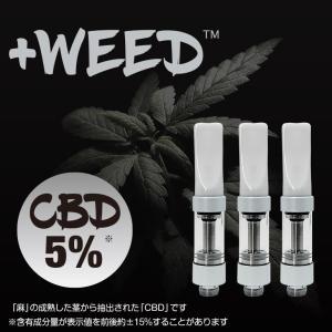 電子タバコ 電子たばこ 電子煙草 プラスウィード +WEED ハーブフレーバーCBD5%交換用カートリッジ3個入り ホワイト 4580620770140 amiskanazawa