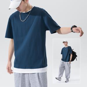 Tシャツ メンズ 半袖 夏 無地 ロンT ティーシャツ カットソー ファッション カジュアル 白 夏 2021 大きいサイズ 20代 30代 40代 50代 重ね着|amistad-2