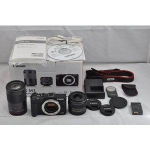 Canon EOS M3 EF-M 15-45mm 55-2...