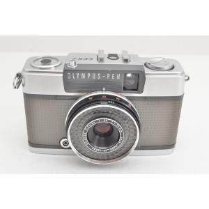 ★並品★OLYMPUS オリンパス PEN EES-2 (D.Zuiko 30mm F2.8) MF ハーフサイズフィルムカメラ