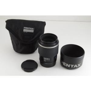 ★美品★ペンタックス smc PENTAX FA 645 120mm F4 MACRO 中判レンズ AF フード付|amity0925