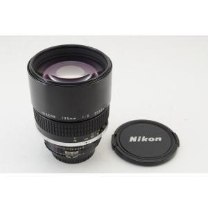 ★美品★Nikon ニコン Ai-S Nikkor 135mm F2 中望遠 単焦点レンズ