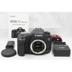 ★美品★Canon キヤノン EOS 7D Mark II ボディ デジタル一眼レフカメラ
