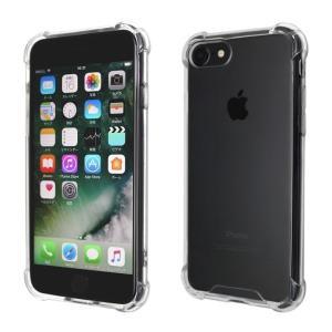 iPhone8/7 耐衝撃バンパー+アクリルハイブリッドケース クリア|amixonlineshop