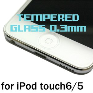 iPod touch6/5用 0.3mm 強化ガラス 日本製...