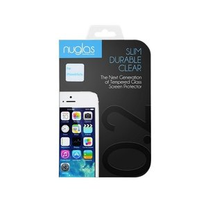 Nuglas 最薄0.2mmラウンドエッジ 日本製ガラス使用 iPhone SE/5s/5c/5用 強化ガラス 液晶保護フィルム|amixonlineshop