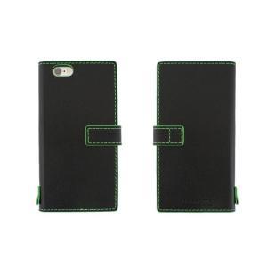 【アウトレット品 ギフトボックス無し】iPhone6s/6 (4.7インチ) イタリアンレザーケース Nuovos Nero|amixonlineshop