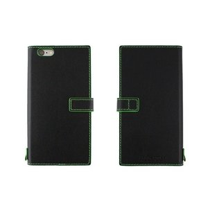 【アウトレット品 ギフトボックス無し】iPhone6s Plus/6 Plus (5.5インチ) イタリアンレザーケース Nuovos Nero|amixonlineshop