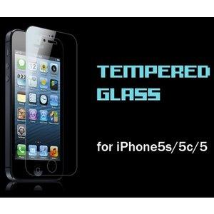 iPhone SE/5s/5c/5用 0.3mm 強化ガラス スクリーンプロテクター 日本製(AGC旭硝子製)ガラス使用 硬度9H 厚さ0.3mm 2.5Dラウンドエッジ|amixonlineshop
