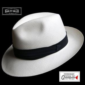 パナマ帽 パナマハット メンズ バーティーブルー BARTY BLUE バーティーフィノ |ammax
