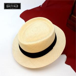 パナマ帽 パナマハット メンズ バーティーブルー BARTY BLUE バーティーモンブラン|ammax