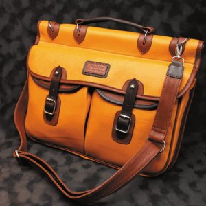 ブリーフケース  メンズ革鞄 ペニッシュミント ブリティッシュブリーフ タン |ammax