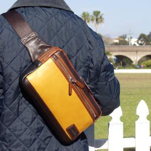 クリアランス対象品 革ボディー鞄 レザー革鞄 オックスフォード 60%OFF ammax